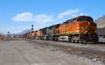 BNSF'S PROVO-DENVER MANIFEST APRIL 10,2010.IRONTON,UTAH.